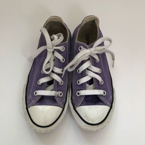 Converse Girls sneakers shoes purple 13